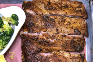 1/4 Rack House Dry Rubbed Ribs Brunch - delivery menu