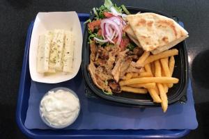 Pork Gyro Platter - delivery menu