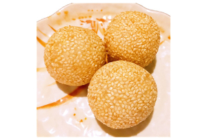 Red Bean Paste Sesame Balls - delivery menu