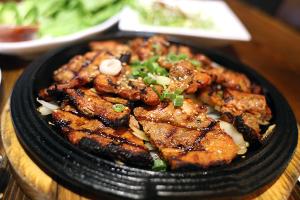 BBQ Grilled Gochujang Pork Belly - delivery menu