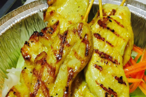 A7. Chicken Satay - delivery menu