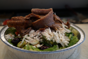 Greek salad with gyro - delivery menu