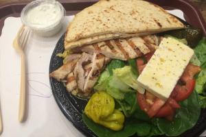 Chicken Souvlaki Platter - delivery menu