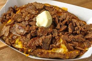 STEAK Cheese Potato - delivery menu