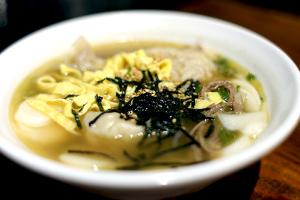 Dduk Mandoo Guk - delivery menu