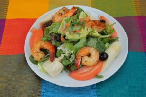 Shrimp and Avocado Salad - delivery menu