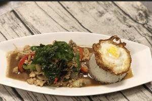 Kra Pow Gai Khaldao - delivery menu