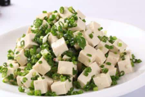 Tofu with Scallions - delivery menu