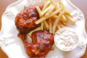 Chicken Wings Platter - delivery menu