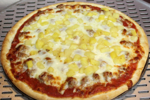 Thin Hawaiian Pizza - delivery menu