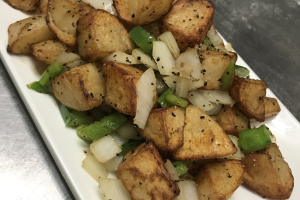 18a. Salt and Pepper Potato - delivery menu