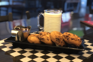 Chocolate Chip Cookies & Milk - delivery menu
