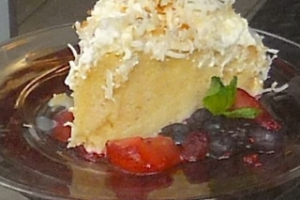 Coconut Tres Leches - delivery menu
