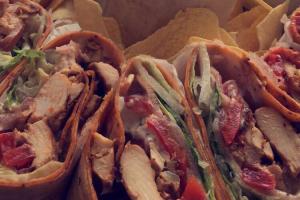 8. BBQ Chicken Wrap - delivery menu