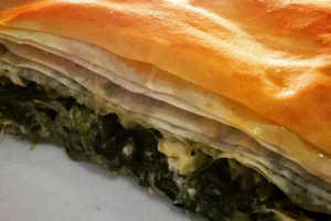 Homemade Spinach Pie - delivery menu