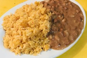Arroz y Frijoles - delivery menu