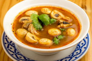 Tom Yum Shrimp Soup - delivery menu