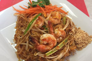 25. E-San Pad Thai Noodle - delivery menu