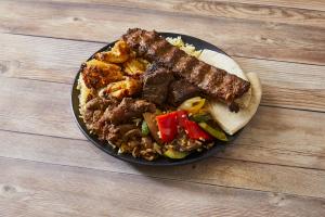 Beef Kabob and Chicken Kabob - delivery menu