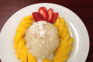 Sweet Sticky Rice and Mango - delivery menu