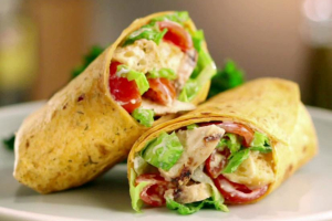 Grilled Chicken Wrap - delivery menu