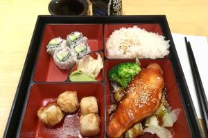 Salmon Teriyaki Lunch Bento Box - delivery menu