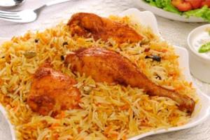 Chicken Tikka Biryani - delivery menu