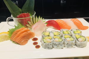 Sushi and Sashimi Lunch Special - delivery menu