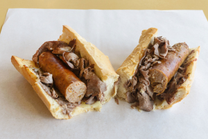 Beef and Sausage Combo Sandwich - delivery menu
