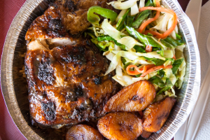 Jerk Chicken Dinner - delivery menu