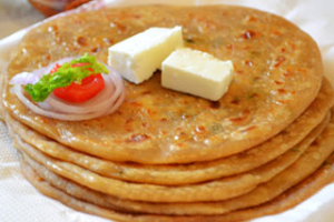 Aloo Paratha - delivery menu