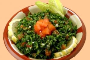 Tabbouleh - delivery menu