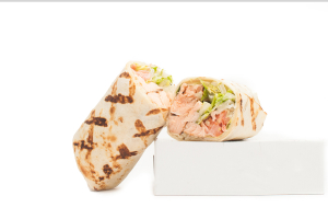 Grilled Salmon Wrap - delivery menu