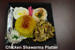 Chicken Shawarma - delivery menu