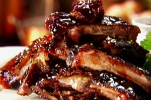 5. BBQ Spare Ribs - delivery menu