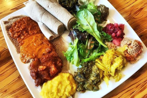 Vegan Platter - delivery menu