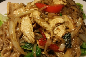 N3. Drunken Noodles Dinner - delivery menu