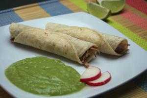 1. Taquitos - delivery menu