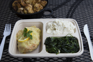 Chicken Francaise with 2 Sides Dinner Special - delivery menu