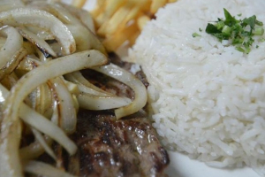 Meat with Onions - delivery menu