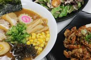 3. Ramen, Chicken Teriyaki and House Salad Combination - delivery menu
