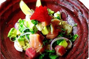 Seafood ceviche cold ramen - delivery menu