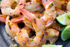 Grilled Shrimp Kebab - delivery menu