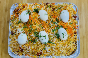 Egg Biryani Family Pack - delivery menu