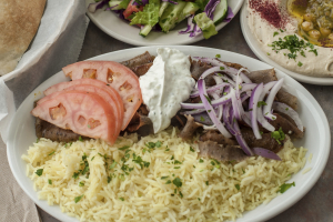 Gyro Plate - delivery menu