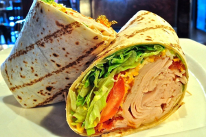 Turkey Avocado BLT Wrap - delivery menu