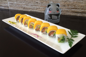 Yellow Dragon Roll - delivery menu