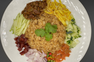 Shrimp Paste Fried Rice( Kao Klook Ga pi ) - delivery menu