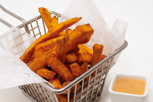 Herb Sweet Poato Fries - delivery menu