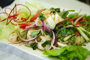 22. Yum Pla Muk Salad - delivery menu